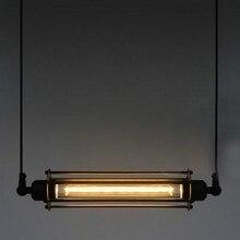 Винтажный Американский RH Лофт Edsion E27 лампа подвесной светильник стимпанк промышленный металлический подвесной светильник лампа кофе бар ресторан светильник s