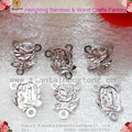 Free shipping cheap rose alloy rosary centerpieces,centre piece,holy family Rosary centers,crucifix special offer