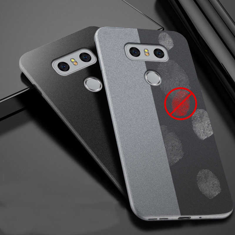Ultra Slim Matteเคสโทรศัพท์สำหรับLG V40 G7 ThinQ V30 ซิลิโคนป้องกันการกระแทกสำหรับLG Q8 Q6 mini G4 G5 SE G6 Coque