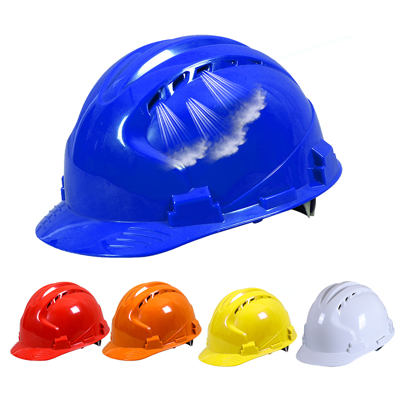 High Quality Safety Helmet Hard Hat Work Cap ABS Material Construction Protect Helmets Breathable Engineering Power Labor Helmet цена