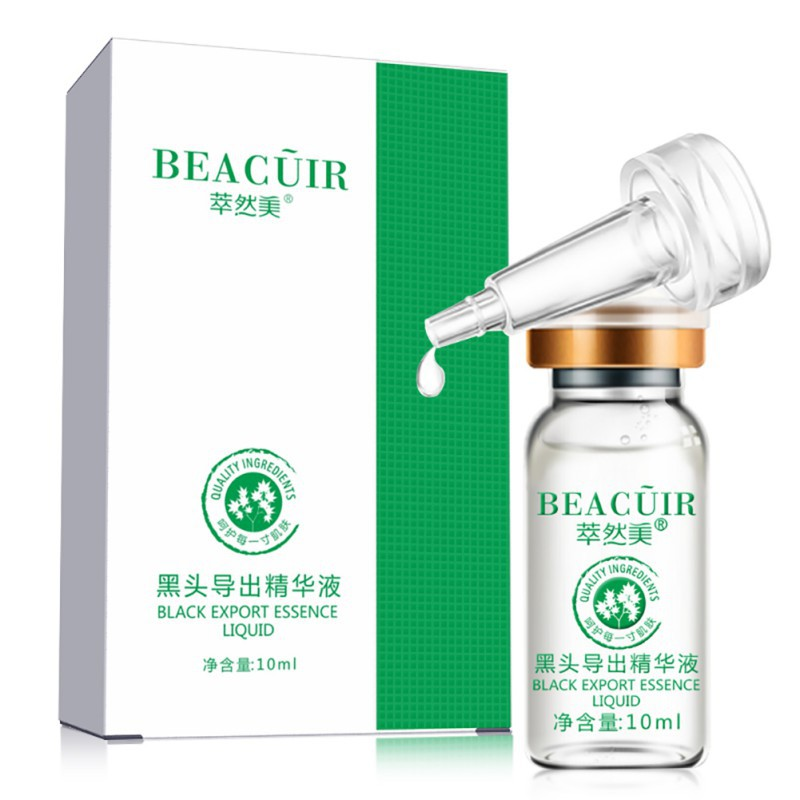 Blackhead Derived Essence Removes Blackhead Deep Cleansing Pore Cleansing Facial Reduces Extra Fat Replenish Skin Moisture