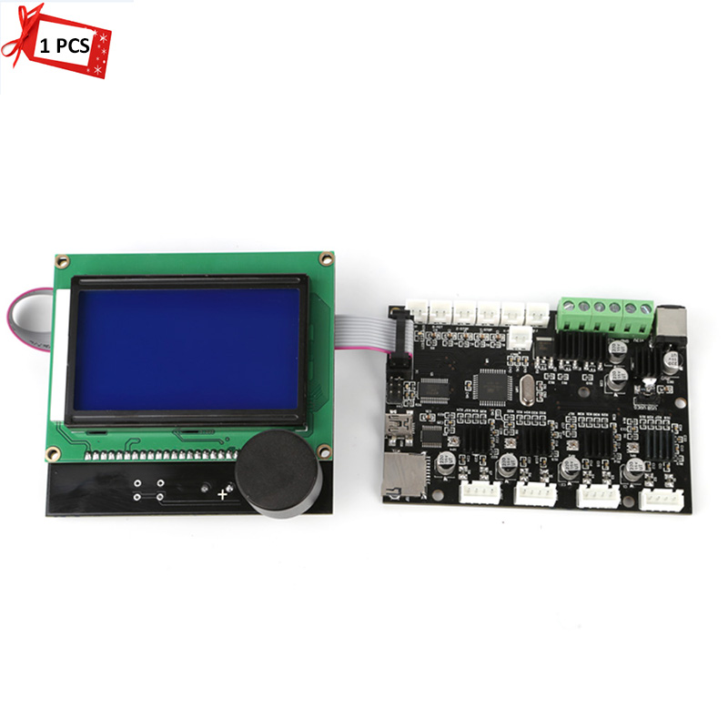 3D Printer Part Mainboard & Screen for Creality Cr-10/Cr-10s 3D Printer Mainboard Control Broad 55ml aluminium sub tank printer part