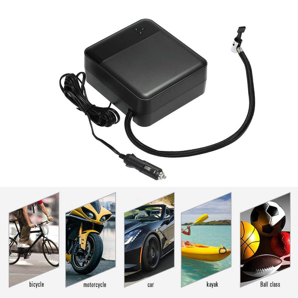 ضاغط السيارة الإطارات نفخ مضخة السيارات الرقمية الكهربائية نافخة الإطارات 12 V ضواغط هوائية سيارات لإطارات سيارة دراجة SUV قارب