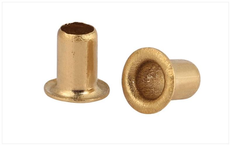 GB867-86 copper alloy eyelet rivets M0.9 M1.3 M1.5 M1.7 M2 M2.3 M2.5 M3 M3.5 M4 M5 M6 rivet full hollow rivet through hole rivetGB867-86 copper alloy eyelet rivets M0.9 M1.3 M1.5 M1.7 M2 M2.3 M2.5 M3 M3.5 M4 M5 M6 rivet full hollow rivet through hole rivet