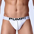 Brand Men Pouch Briefs Shorts Punching Bag Man Fashion Mesh transpare Sexy Gay Underwear Backless Jockstrap Gay Thongs G-Strings