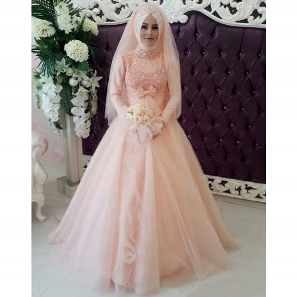 Wedding Dresses Muslim Wedding dresses with long sleeves unique ...