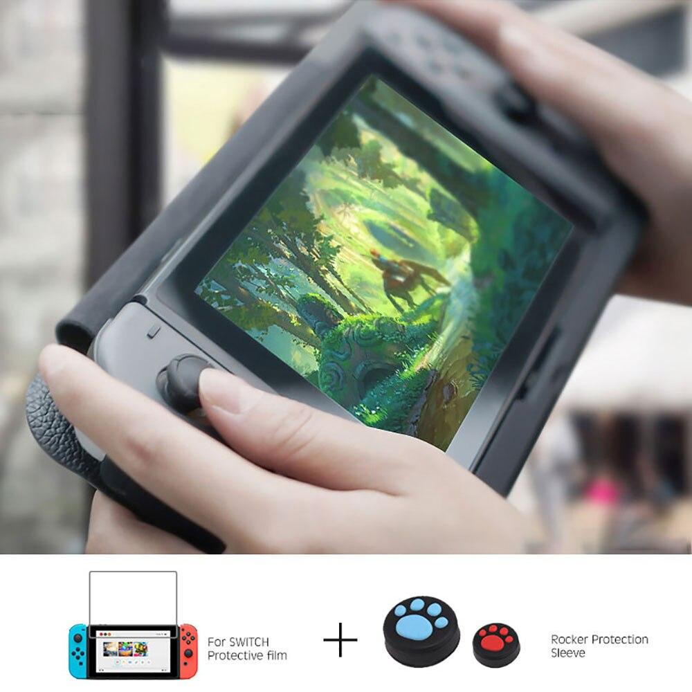 10000 mAh chargeur de batterie étui pour support de commutateur de Nintendo support de support en cuir NS pour Nintendo Switch housse de batterie portative cadeaux - 5