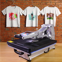 ST 4050A 40x50CM Hydraulic Sublimation Printer Heat Press Machine T shirt Printing Machine Phone Case/Bag/Puzzle/Rock/Glass