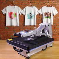 ST-4050A 40x50CM Hydraulic Sublimation Printer Heat Press Machine T-shirt Printing Machine Phone Case/Bag/Puzzle/Rock/Glass