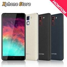 Оригинал Homtom HT30 3 Г Мобильные Телефоны Android 6.0 8 ГБ ROM 1 ГБ RAM Quad Core Smartphone 720 P 13.0MP Dual SIM 5.5 дюймов Сотовый телефон