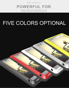 Image 2 - For SONY Xperia XA2/ XA2 Ultra Case LOVE MEI Shock Dirt Proof Water Resistant Metal Armor Cover Phone Case for Sony Xperia XA2