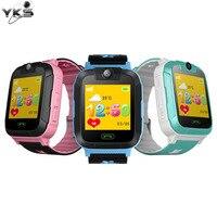 Kids Speelgoed Walkie Talkies Educatief Smart Horloge 1.4 Inch Touch Screen 3G Stappenteller SIM Real Time Tracking Veiligheid GPS Pols horloge