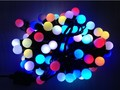 Free shipping Colourful 5m 50 leds 220V/110V led String light fairy Christmas Lights for Party Holiday Decoration