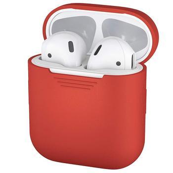 Protector de silicona suave a prueba de golpes funda protectora para Apple para auriculares AirPods funda protectora portátil de moda