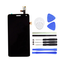 Top Quality For Lenovo S660 LCD Display Touch Screen Digitizer Assembly Replacement For Lenovo Cell Phone Parts +Free Tools