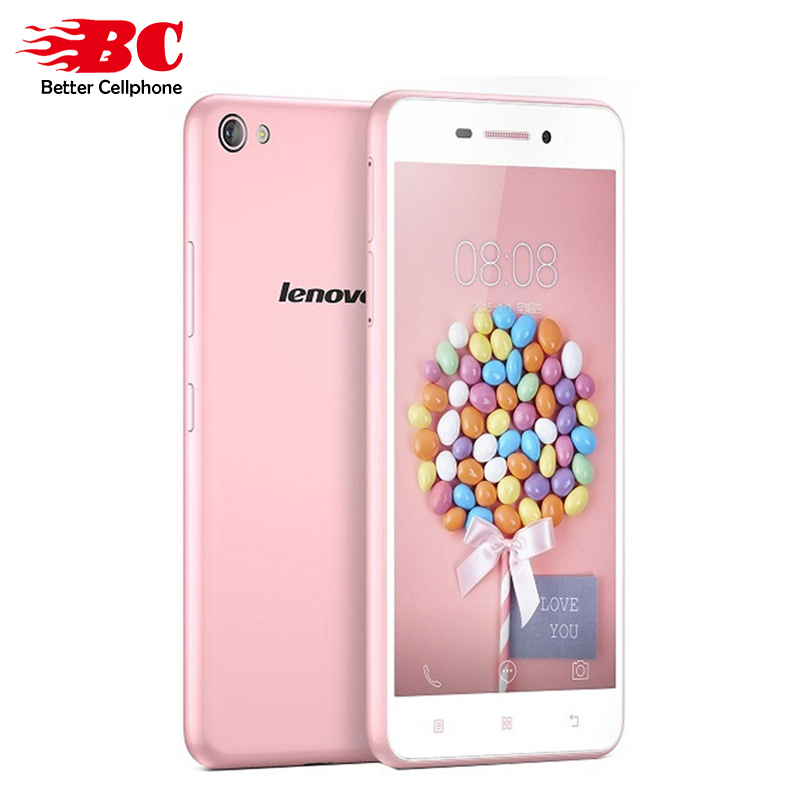 In Stock !Original ! Lenovo S60 S60W Quad Core 64bit 4G LTE Android 4.4 5.0 Inch 1280*720P 13.0MP 2GB RAM 8GB ROM Smart Phone