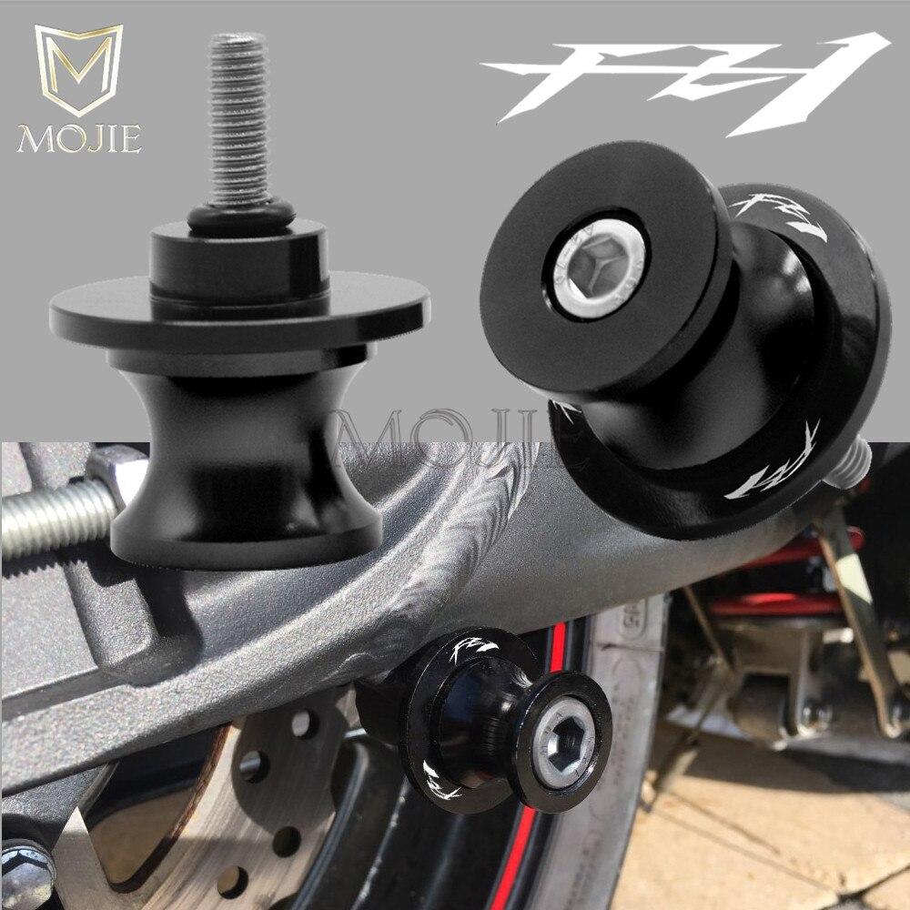 Swingarm Motorcycle 6mm CNC Aluminum Rear Swingarm Spools Slider For Yamaha FZ1 FZS1000 2004 2005 2006 2007 2008 FZ 1 FZS 1000 кофры komine