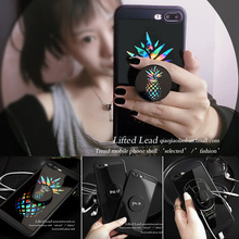 Soft Silicone Case With Ring Holder For iphone 7 7plus  6 6s 6plus 8 8plus Case