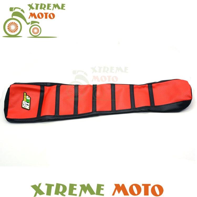 Red Gripper Soft Seat Cover For Honda CR125R 91-92 CR250R 90-91 CR500R 91-01 Motorcycle Motocross Supermoto Dirt Bike Off Road neri karra 0579 3 01 90 3 01 91
