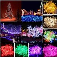 String Light 100 LED 10M Christmas Wedding Party Decoration Lights AC 110V 220V Outdoor Waterproof Led