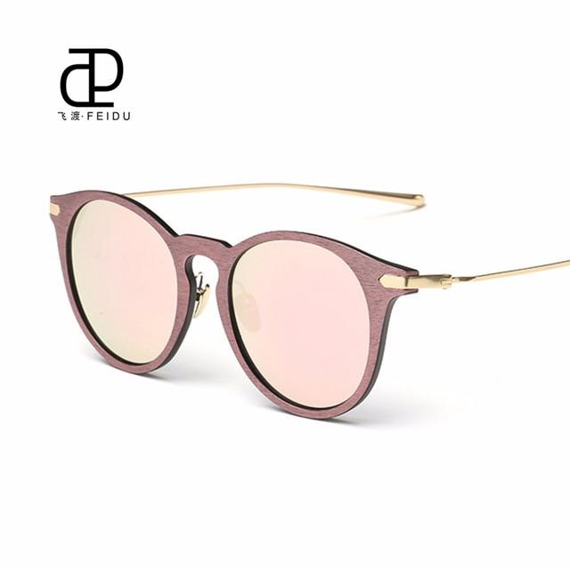 6fff52271211 FEIDU 2016 New Cat Eye Sunglasses Women Brand Designe Graining Coating Lens Sun  Glasses For Women Driving Oculos De Sol Feminino