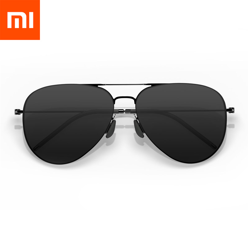Nylon Glasses by Xiaomi TS Brand Nylon Polarized Stainless Sun Mirror Lenses Glasses 100% UV-Proof for Outdoor Travel Man Woman