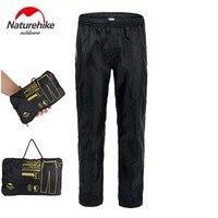 NH NatureHike Unisex Foldable Rain Pants Auturm Skin Pant Raincoat Waterproof Rainproof Trousers Climbing Hiking Trekking Pants
