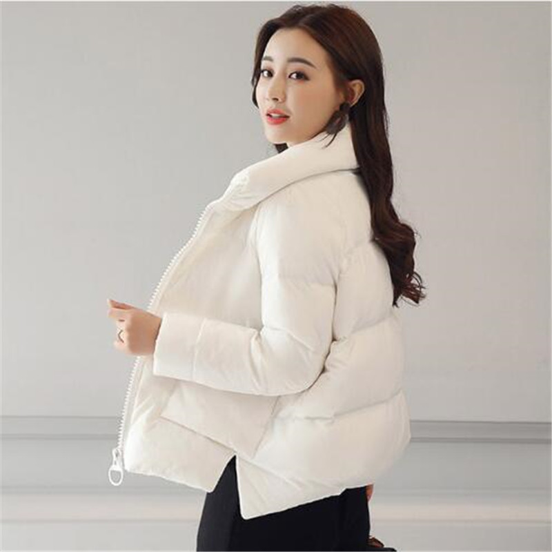 2018 Women Winter Thick Short   Down     Coat   Fashion Female Duck Parkas Jacket Thick Warm Elegant   Down     Coat   Wadded Jacket