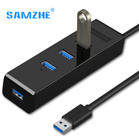 SAMZHE 4 Ports USB 3 0 HUB High Speed Data Transmission For Computer Phone U Hard