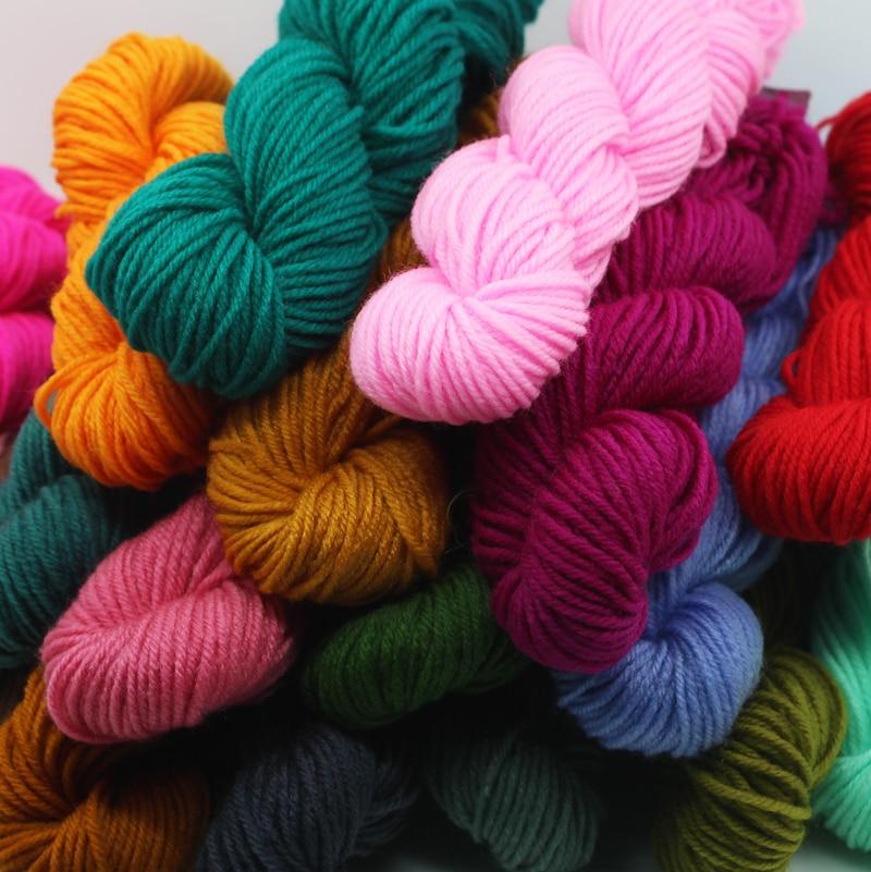̀ •́ 10 unids 330 g/lote acrílico crochet Hilado ganchillo Hilado ...