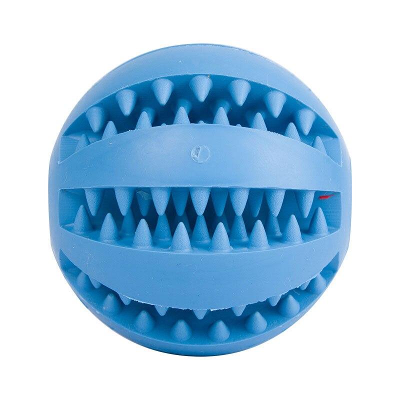 Mascotas juguetes interactivos tough juguete pelota de goma elasticidad  Ball Dog masticar juguetes Limpieza de dientes juguetes para perros bola de  ... 4dc549879b230