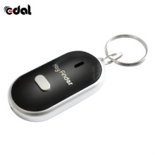 EDAL Smart Finder key Whistle Sensors Sound Keychain LED With Whistle Claps Finder Locator Find Lost Keychain finder цена