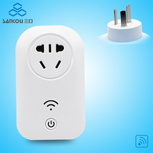 Prise Electrique,Portable Socket, 10A Remote Control Power Socket , Plug With Wifi Smart Electrical Wall Socket AC220V/110V