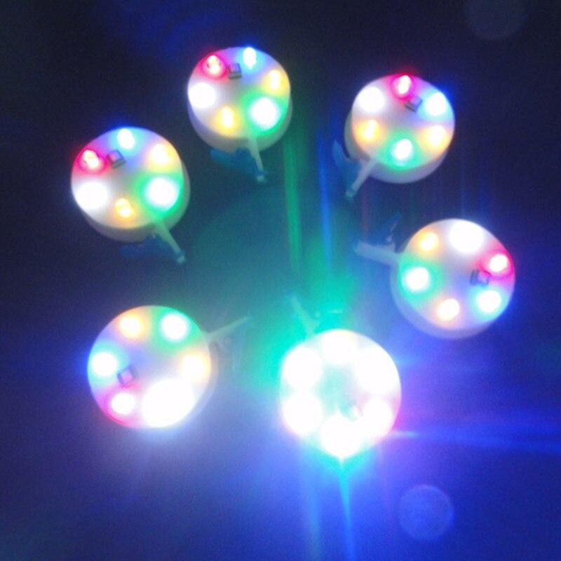 Высокое качество 3p 6p цветной светильник Светодиодная лампа с выключателем 10 шт./лот светодиодный воздушный змей летающий дракон vlieger игрушки для детей