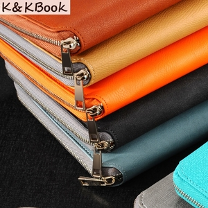 Image 2 - K&KBOOK KK009 Leather Notebook A5 A6 Binder Spiral Notebook Diary Journal Planner Agenda 2018 Large Capacity Padfolio Cardeno