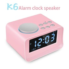 UK/EU/US Plug Multi-function Digital LED Alarm Clock Wireless Bluetooth Speaker Smart LED Night Light Table Lamp Alarm Clocks remote central door lock system with flip key remote controls many key blanks are selectable suitable for all 12v cars