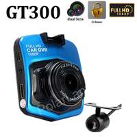 Dual Lens Car DVR Front 140 Degree And Rear 120 Degree Wide Viewing Angle Auto