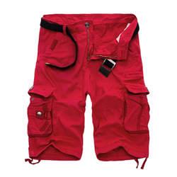 Для мужчин s Военная униформа брюки карго шорты для женщин 2019 Фирменная Новинка армейские камуфляжные Шорты хлопковые свободные работы