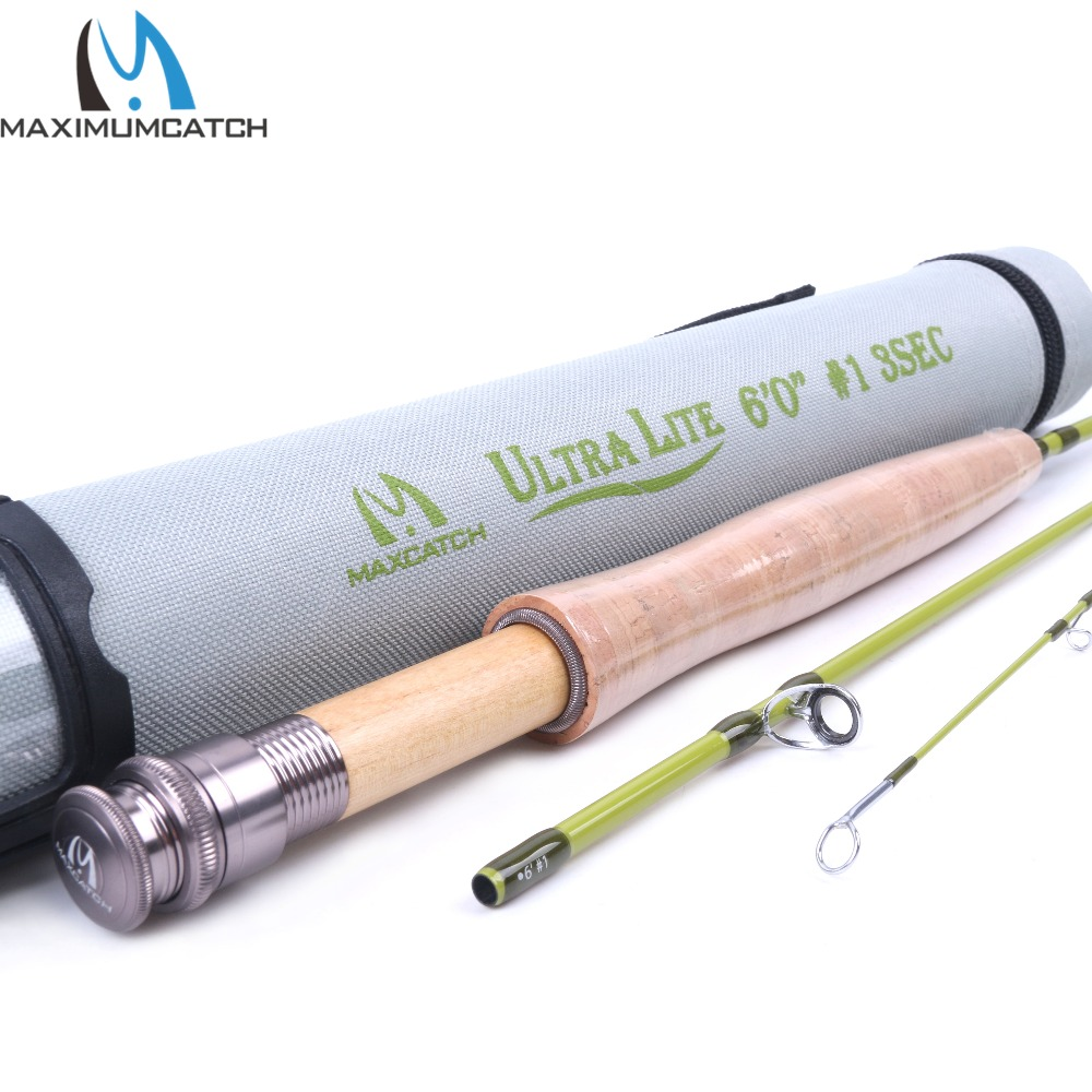Maximumcatch 1WT Fly Rod 6FT Medium-Fast Fly Fishing Rod Graphite IM10 Cordura Rod Tube игра для pc overwatch origins edition