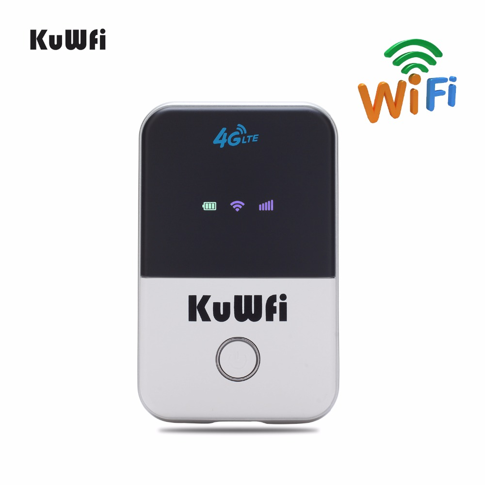 UK Shipping Pocket 4G LTE Wifi Router 3G 4G USB Modem With SIM Card 100Mbps Mobile Hotspot Car Router for Travel 2000mAH Battery