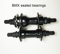 Original TaiWan OEM factory bearing 36 hole 14mm axis 12T aluminum right driver BMX bicycle hubs