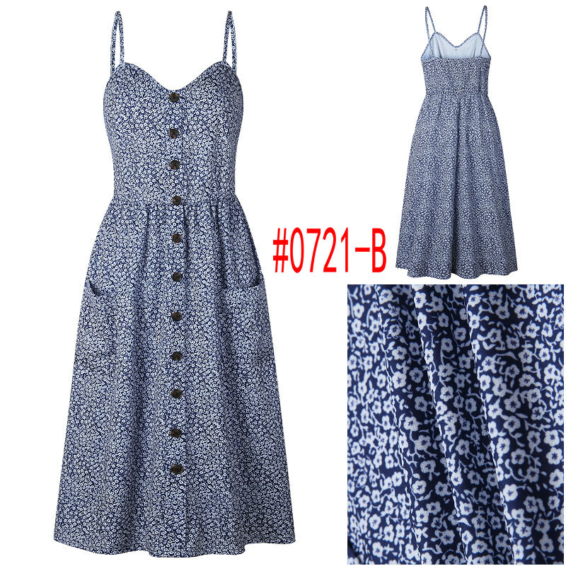 HTB1I2FXakxz61VjSZFtq6yDSVXaR Summer Women Dress 2019 Vintage Sexy Bohemian Floral Tunic Beach Dress Sundress Pocket Red White Dress Striped Female Brand Ali9