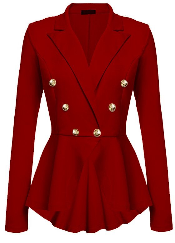 Red Blazers For Ladies | Tulips Clothing