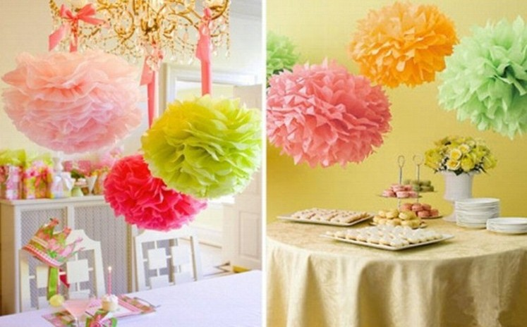 Artificial paper flower ball wedding birthday party festival artificial paper flower ball wedding birthday party festival celebrate decoration house store ornament20pcslotfree shipping in artificial dried junglespirit Image collections