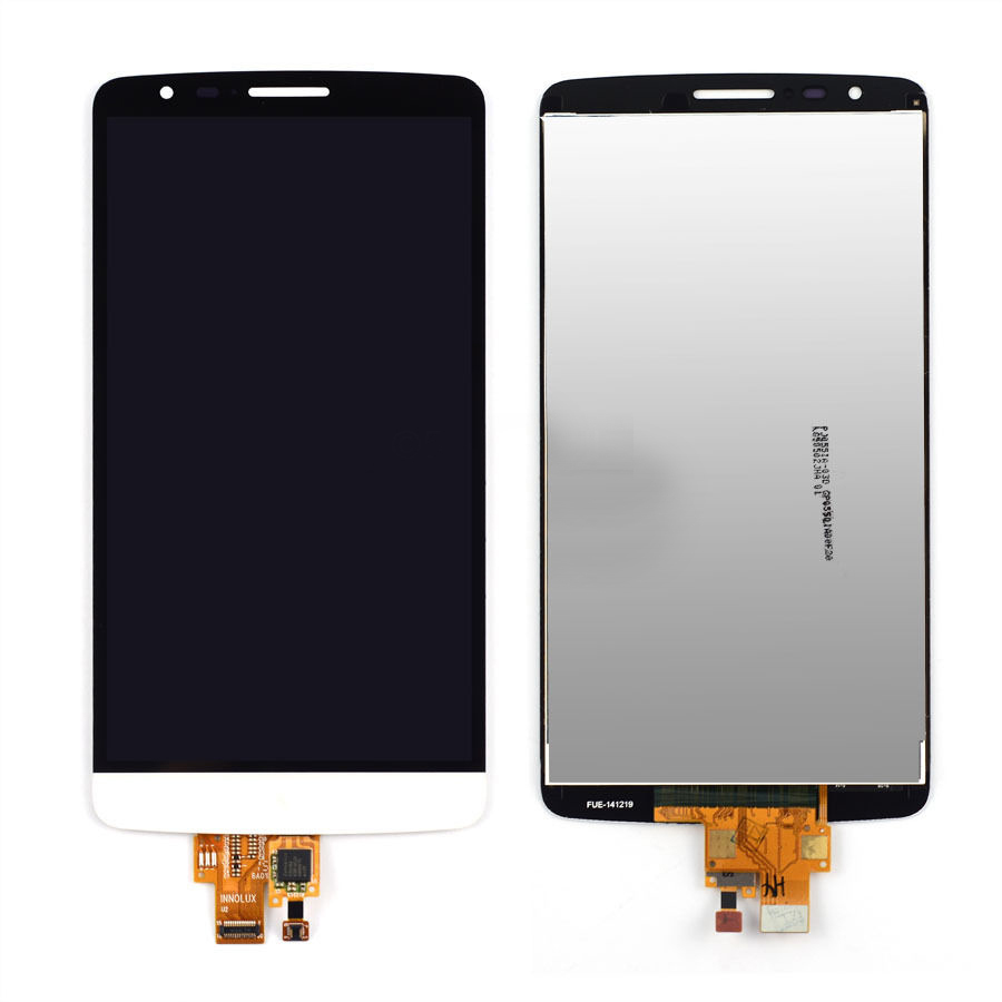 WHITE LCD Display + Touch Screen Digitizer Assembly Replacement FOR LG G3 Stylus D690N D690 Free Shipping