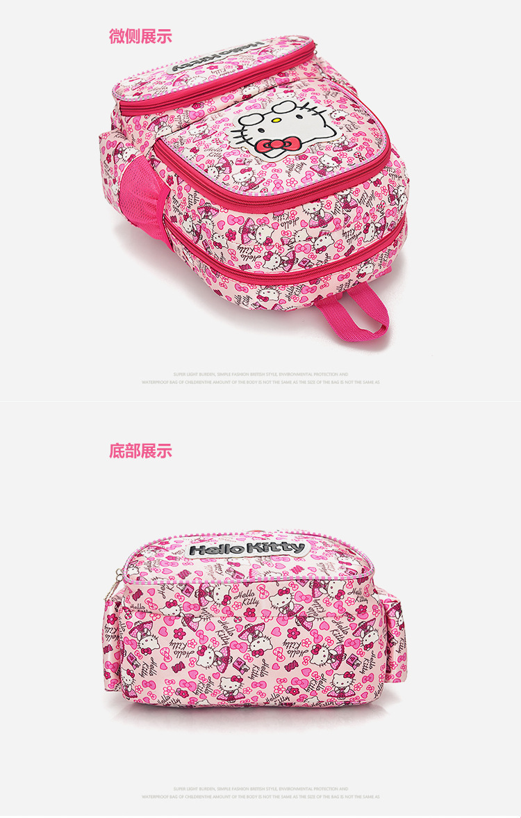 6b62809cc0 New Fashion Girls School Bag Cartoon Children Backpack School bag Hello  Kitty BackpacSchoolbag Bags Lovely Children Backpack ...