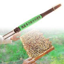 Espátula abelha raspagem caneta para apicultura real jelly raspador rainha ferramenta de criação enxertia tendo pólen abelha