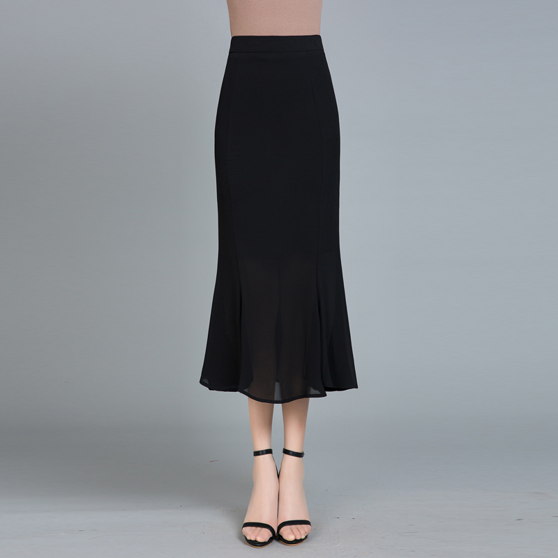 Compare Prices on Long Black Chiffon Skirt- Online Shopping/Buy ...