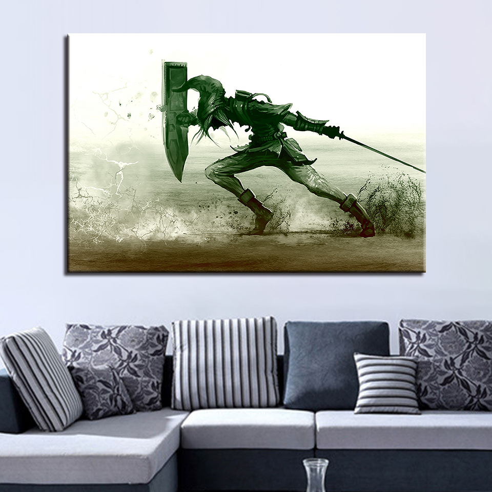 Legend Of Zelda Wall Art.Us 8 81 40 Off Artwork Poster Hd Prints Home Decoration 1 Pieces Legend Of Zelda Wall Art Modular Game Pictures For Kids Room Canvas Painting In