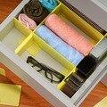 Free combination drawer finishing separator plates, plastic multi-purpose finishing underwear storage compartment E6279